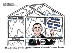 Cruz and Trump color by Jimmy Margulies