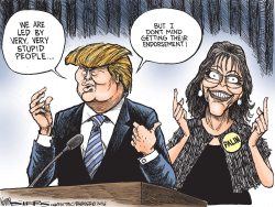 Stupid People by Kevin Siers