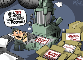 ILLINOIS manufacturing boom by Eric Allie
