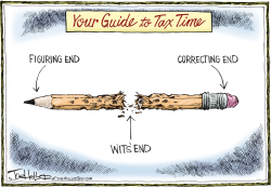 Tax Time by Joe Heller