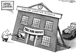 LOCAL OH - Virtual Classroom by Nate Beeler