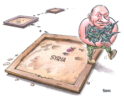 Sandboxes of Putin by Gatis Sluka