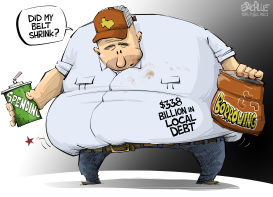 TEXAS debt by Eric Allie
