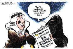 Saudi Arabia and 9/11 color by Jimmy Margulies
