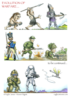 Evolution of Warfare -  by Taylor Jones
