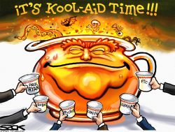 Trump-Aid  by Steve Sack