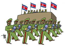 North Korean Hackers Army by Arend Van Dam