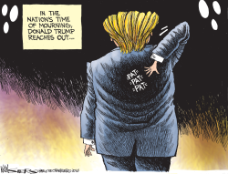 Trump Reaches Out by Kevin Siers
