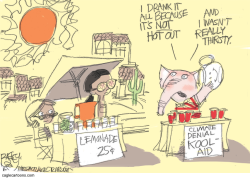 Heat Wave  by Pat Bagley