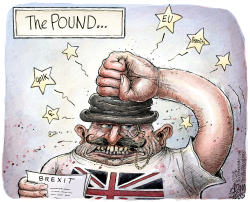 Brexit  by Adam Zyglis