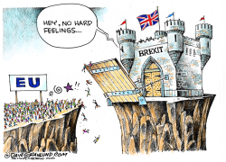 BREXIT from EU  by Dave Granlund