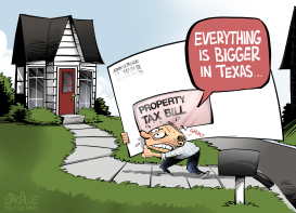 TEXAS property taxes by Eric Allie