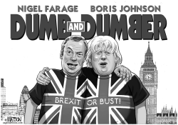 Pro Brexit Politicians Are Dumb and Dumber by RJ Matson
