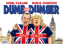 Pro Brexit Politicians Are Dumb and Dumber- by RJ Matson