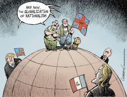 A post-Brexit world	 by Patrick Chappatte