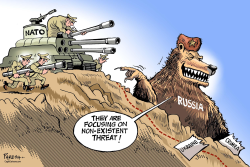 NATO and Russian threat by Paresh Nath