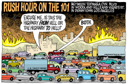 LOCAL-CA 101 Highway from Hell  by Wolverton