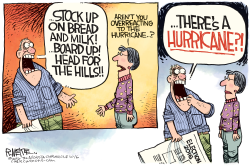 Hurricane Matthew  by Rick McKee