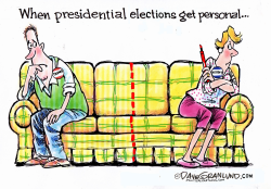 Family political friction 2016  by Dave Granlund
