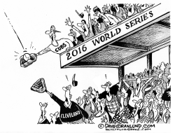 Cubs 2016 champs by Dave Granlund