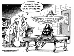 Cubs fan 2016 by Dave Granlund