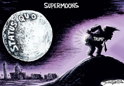 Supermoons by Joe Heller