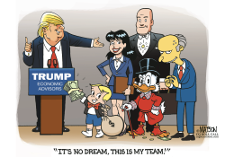 Trump Economic Dream Team by RJ Matson