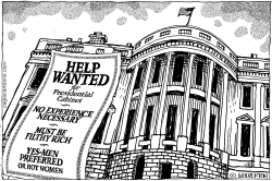 Trump Cabinet Help Wanted by Wolverton
