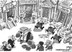 War on Government by Pat Bagley