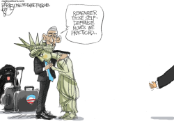 Obama Farewell by Pat Bagley