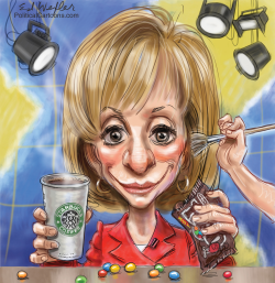 Andrea Mitchell by Ed Wexler