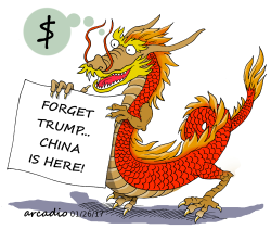 China vsTrump by Arcadio Esquivel