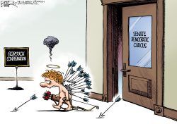 Cupid at Congress by Nate Beeler