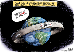 Planetary Wall by Nate Beeler