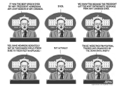 Sean Spicer Press Briefing After Trump Speech by RJ Matson