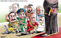 Islamic Military Alliance to FightTerrorism by Sabir Nazar