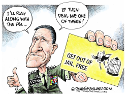 Flynn and immunity  by Dave Granlund