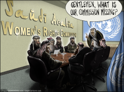 Saudi Arabia Womens Rights Commission by Sean Delonas