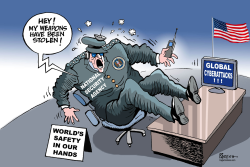 Global cyberattacks by Paresh Nath