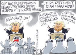 Trump Islam by Pat Bagley