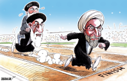 Iranian President Rouhani wins second term by Sabir Nazar