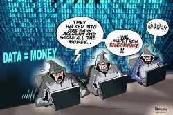 Hackers and Ransomware by Paresh Nath