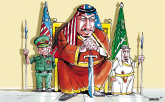 New Wardrobe of Saudi King by Sabir Nazar, Cagle.com