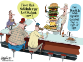 How's that Nothing Burger Looking by Trevor Irvin,  PoliticalCartoons.com