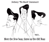 The Mooch by Trevor Irvin,  PoliticalCartoons.com
