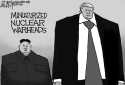 North Korea and Trump by Jeff Darcy, Cleveland.com