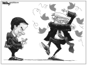 Rubio Tweets by Bill Day, Cagle Cartoons