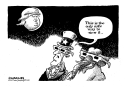 Trump eclipse by Jimmy Margulies, Politicalcartoons.com