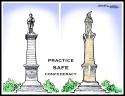 Practice Safe Confederacy by J.D. Crowe, Alabama Media Group/AL.com