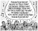 LOCAL PA Teachers' strike singalong BW by John Cole, The Scranton Times-Tribune